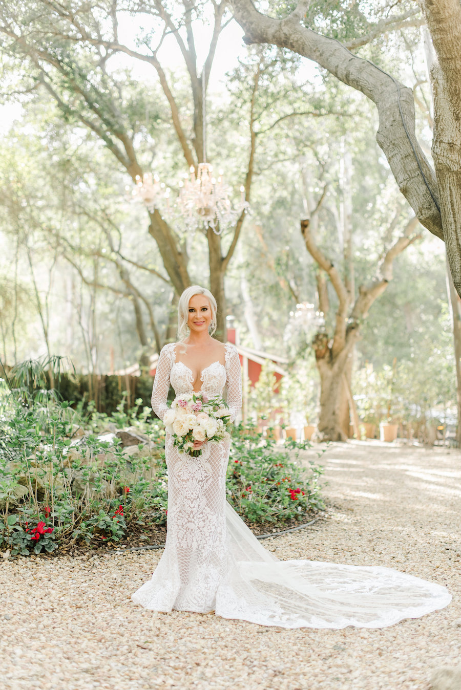 Breathtaking Outdoor White and Blush Wedding in Malibu