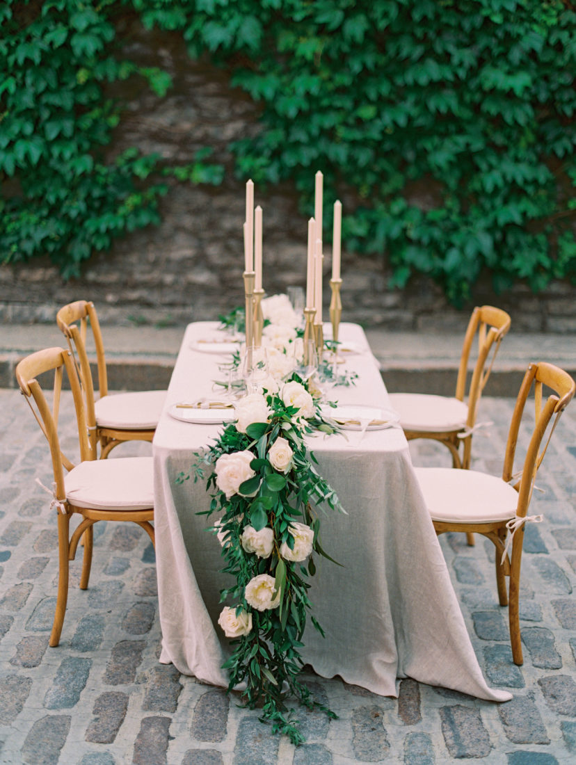 Classic French-Inspired City Wedding Shoot in Old Montreal