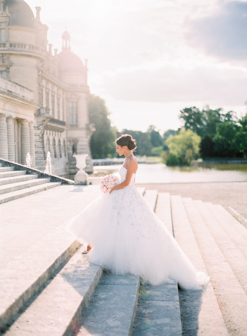 Luxury Fairytale Destination Wedding at Château de Chantilly in France