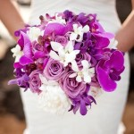 The Loveliest Orchid Wedding Bouquets In Brilliant Colors