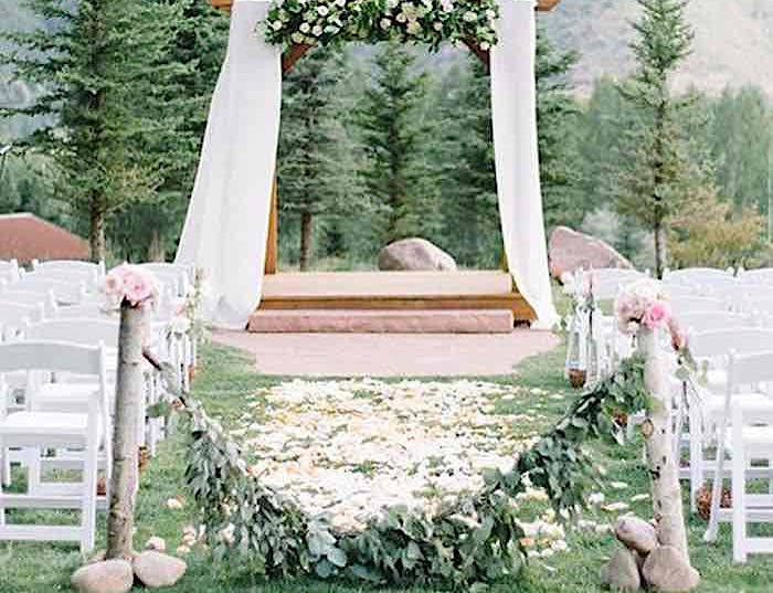 Green Rustic Wedding Ideas