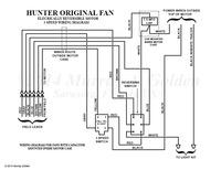 Here's a Hunter Original Fan Wiring Diagram | Vintage