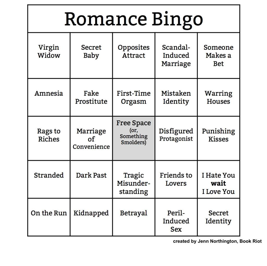 Romance Genre Worksheet