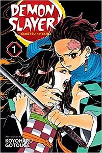 Couverture de Demon Slayer volume 1 - Koyoharu Gotouge