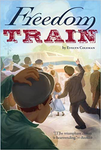 Freedom Train Evelyn Coleman cover