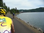 Lake Coeur d'Alene ADA accessible bridge