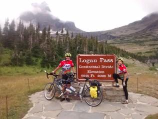 Summiting Logan Pass