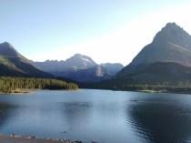 The lake at Many Glaciers