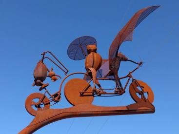 tandem sculpture tucson loop