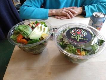 Portland Daily Greens salads