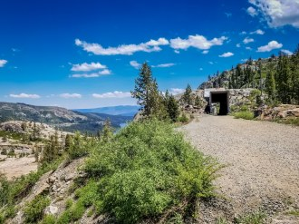 donner pass summit tunnel hike 10-2