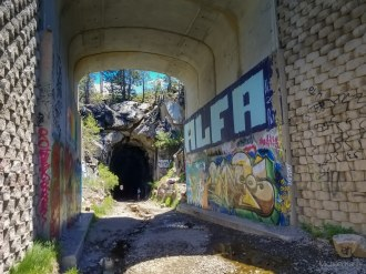 donner pass summit tunnel hike 53