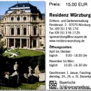 Romantische Residenz ticket