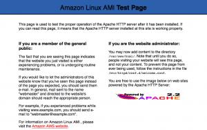 Apache Test ページ
