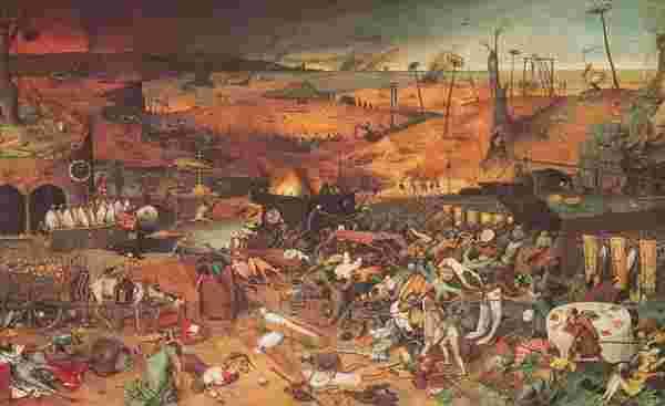 ピーテル・ブリューケルの「死の勝利」