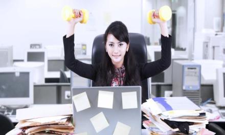 辦公室運動也能做運動-簡易辦公室運動訓練(一)