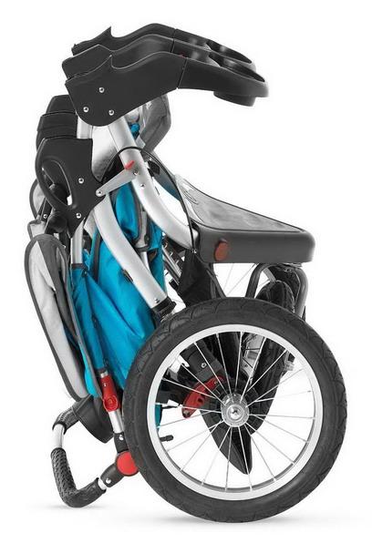 Schwinn Discover Double Jogging Strollers Folded Size