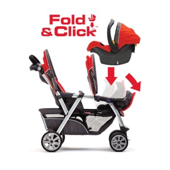 Chicco Cortina Together Double Tandem Stroller