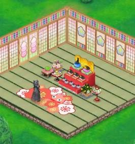 ひな祭り家具