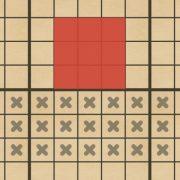 攻撃 3×7マス