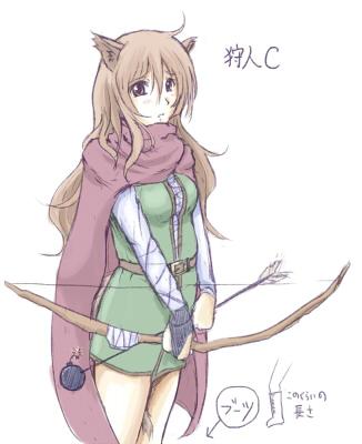 one way heroics hunter c