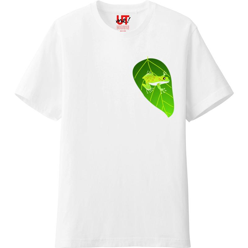 ユニクロ Tシャツ カエル