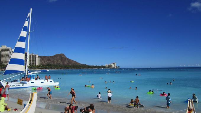 ワイキキ・アラモアナエリアのハワイ親子留学