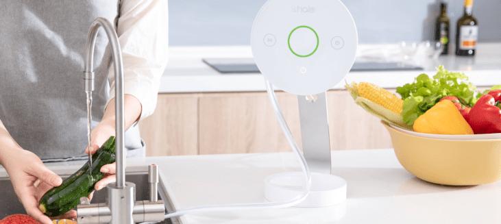 PureHalo 守護者小白 | 世界第一台農藥感測智慧家電