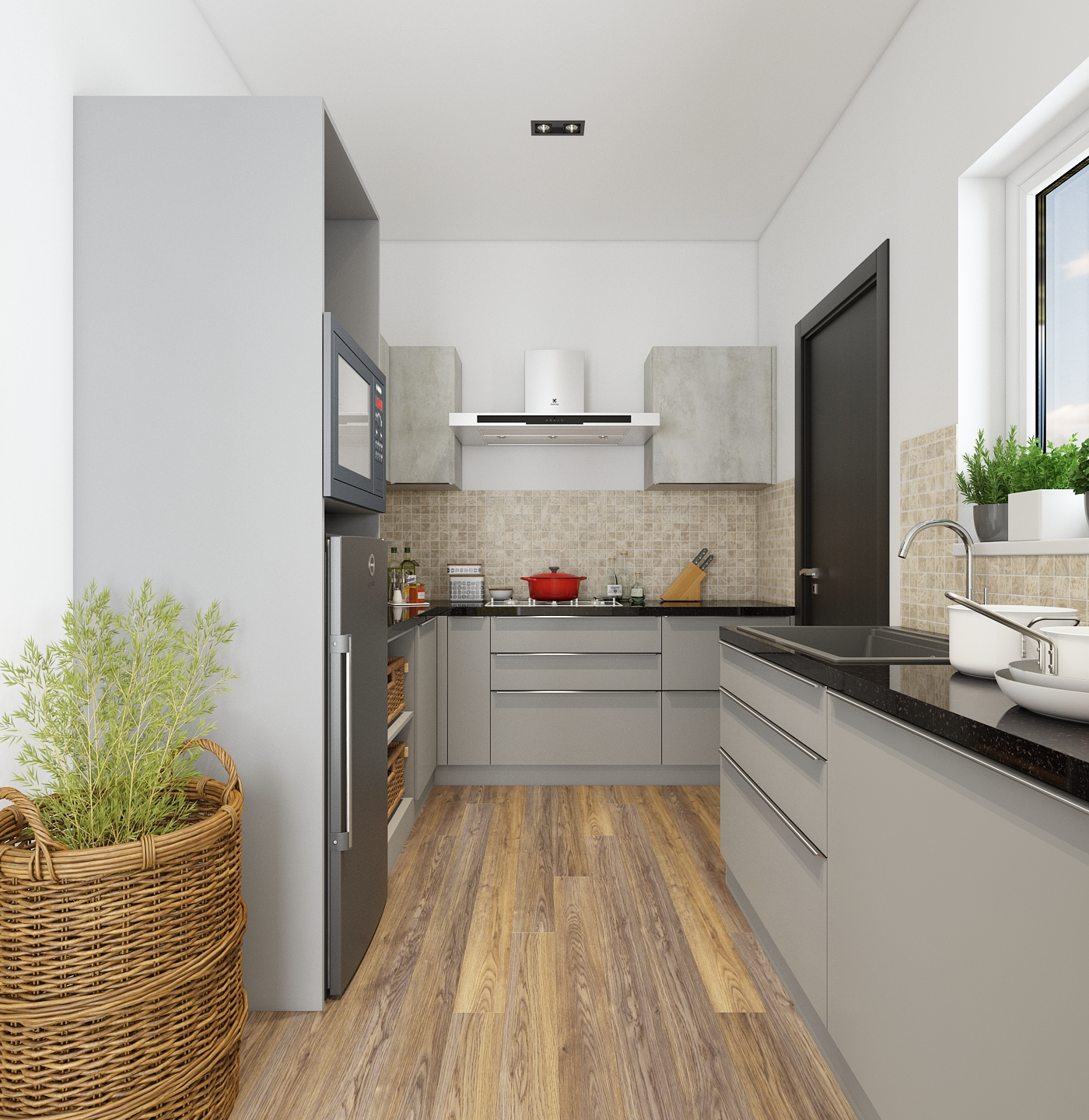 5 Stylish Ideas for Small Kitchens or Mini Kitchens ... on Small Kitchen Ideas  id=83079