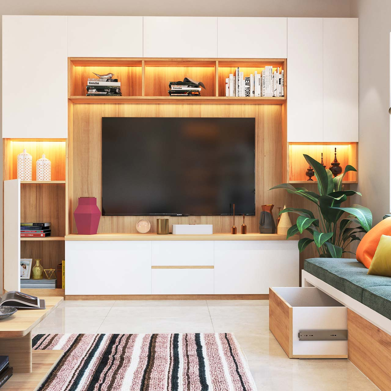 Tv Unit Ideas For Small Living Room