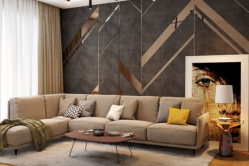 10 Brilliant Living Room Wall Decor Ideas | Design Cafe on Decorative Wall Sconces For Living Room Ideas id=30976
