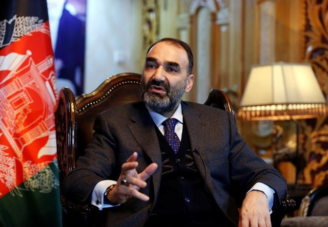 Atta Mohammad Noor, governor of the Balkh province, speaks during an interview in Kabul, Afghanistan January 25, 2017. Credit: Reuters/Mohammad Ismail/Files