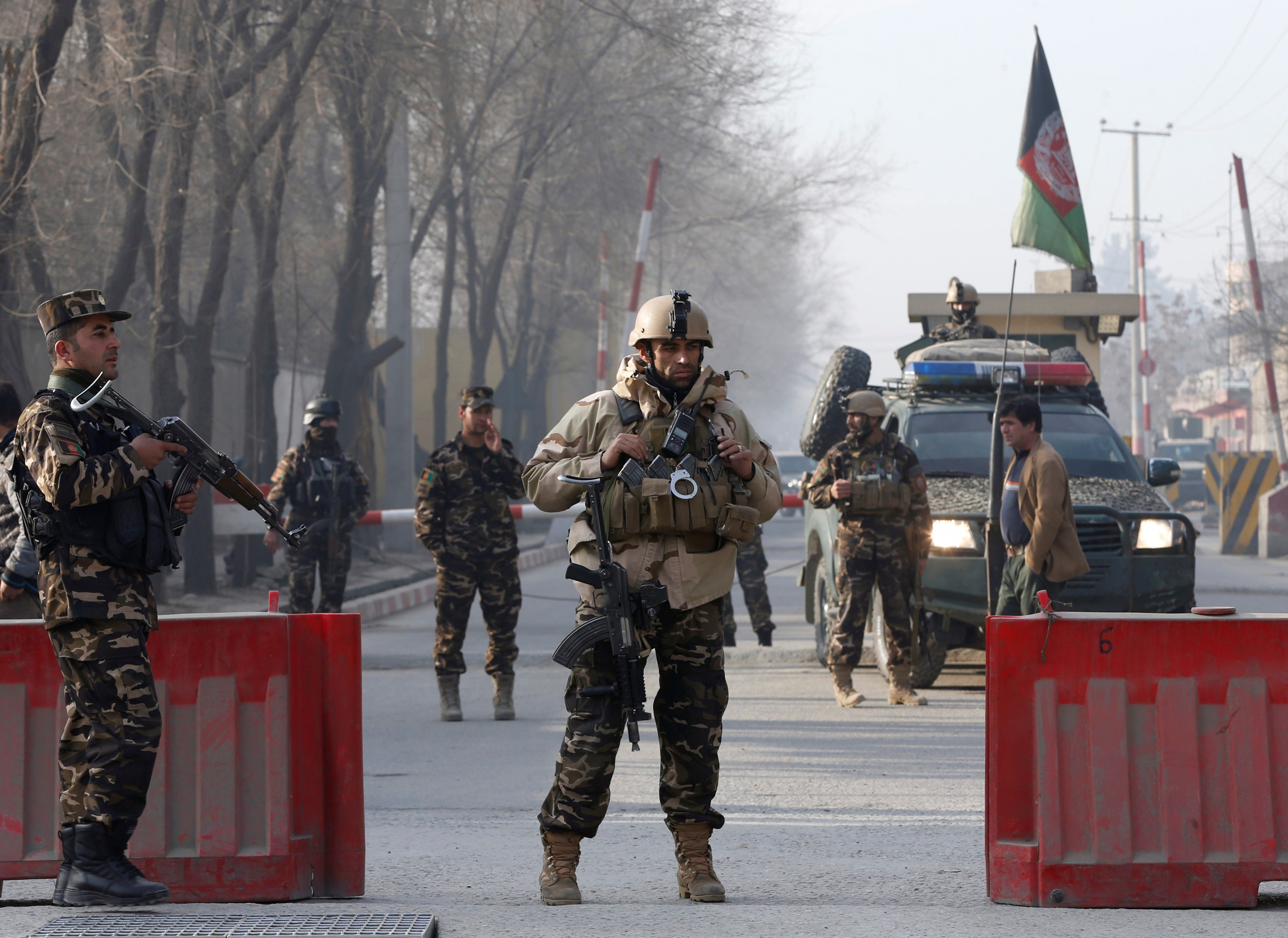 Dozens Killed in Kabul Blasts