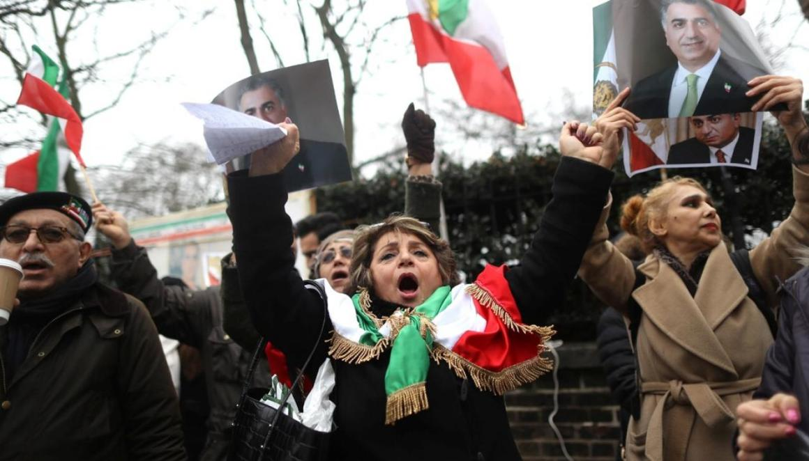 Protest rally in Iran. Credit: Reuters