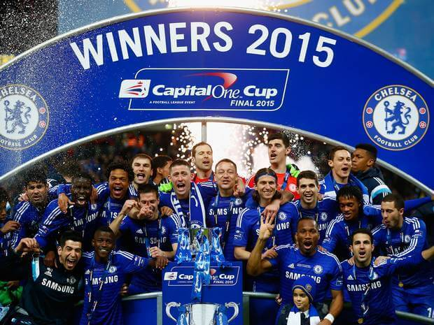 Chelsea Win the Capital One League Cup