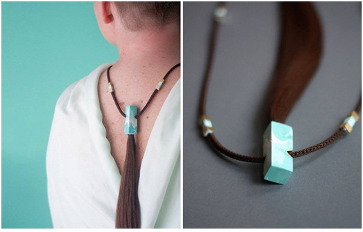 jewelryfor cancer patients from their own hair2