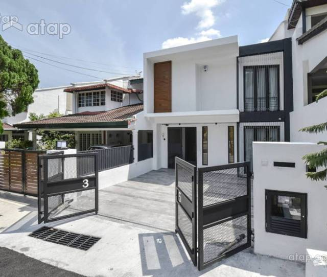 Classy And Stylish Terrace House Designs In Malaysia
