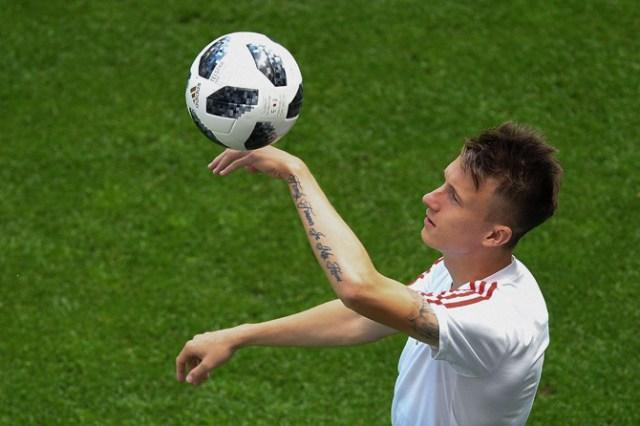Spanyol vs Rusia, Timnas Spanyol, Timnas Rusia, Piala Dunia 2018, Babak 16 besar, Isco, Aleksandr Golovin