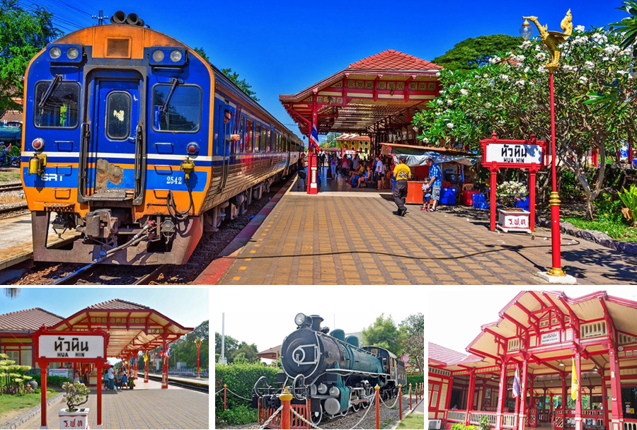 Image result for hua hin train station