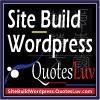 Branding Logo Design for Site Build WordPress website. Small Size Design 1A.
