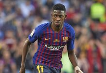 Manchester United are preparing a 100million bid for the Barcelona winger Ousmane Dembele