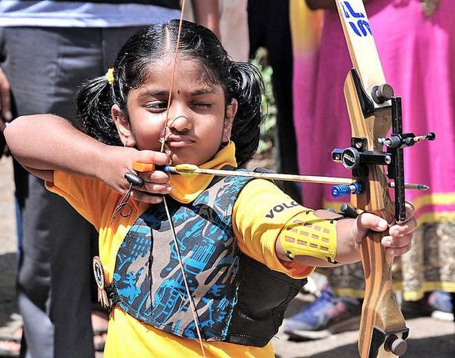 indias-youngest-archer-cherukuri-dolly-shivani-ss-interview