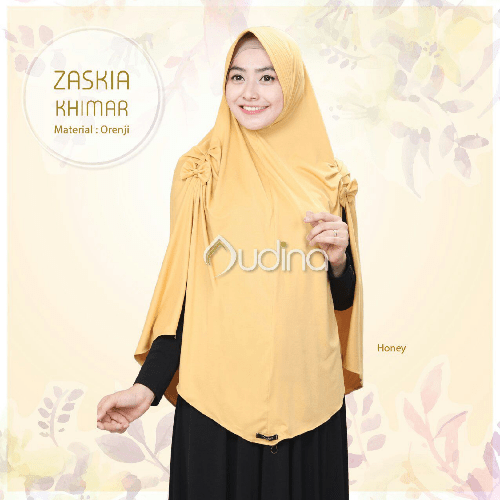 jilbab audina, khimar honey