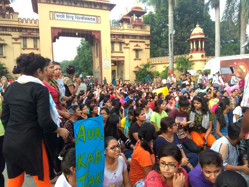 BHU-Girls-Protest