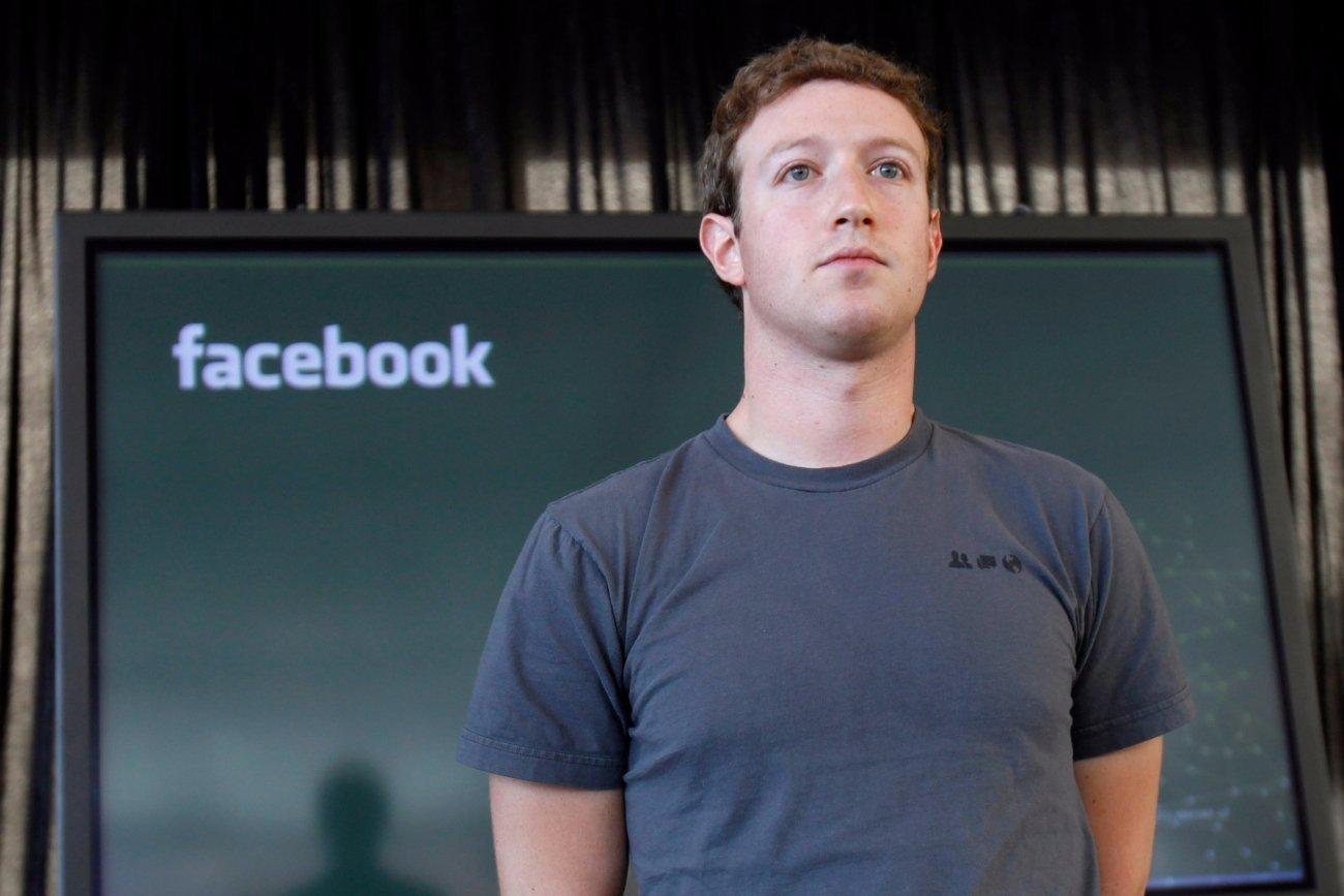 فیس بک کے چیف ایگزیکٹو مارک زکربرگ/(فوٹو : رائٹرس