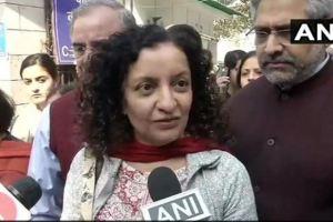 صحافی پریہ رمانی(فوٹو بشکریہ : اے این آئی)