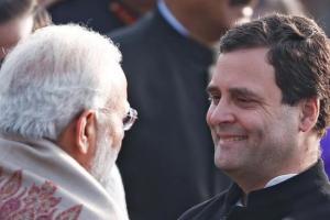نریندر مودی اور راہل گاندھی (فوٹو : رائٹرس)