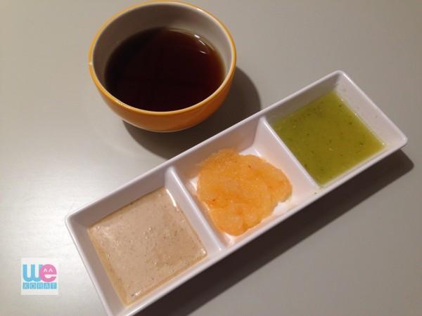 น้ำจิ้มพอนสึ ของร้านชาบู ชาบู นางใน