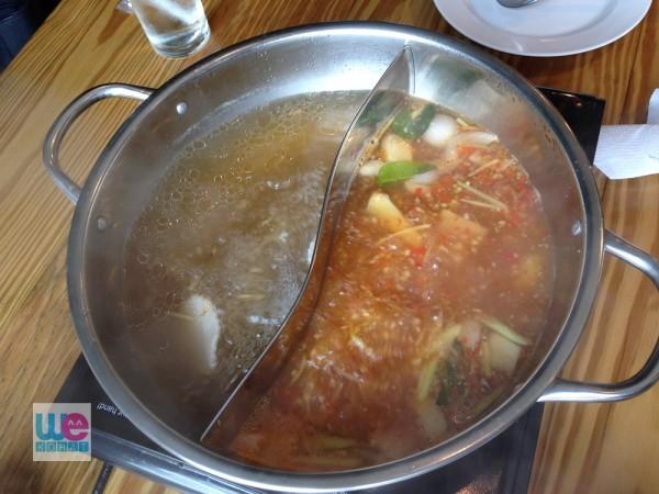 ซุปสองชนิด ซุปหญ้าหวาน กับซุปรสแซ่บ