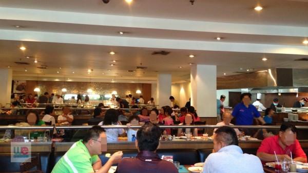 บุฟเฟ่ต์ ห้องอาหารในเรือน โรงแรมสีมาธานี